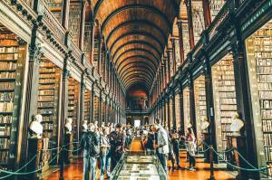 Long Room, Old Library, Trinity College, Dublino