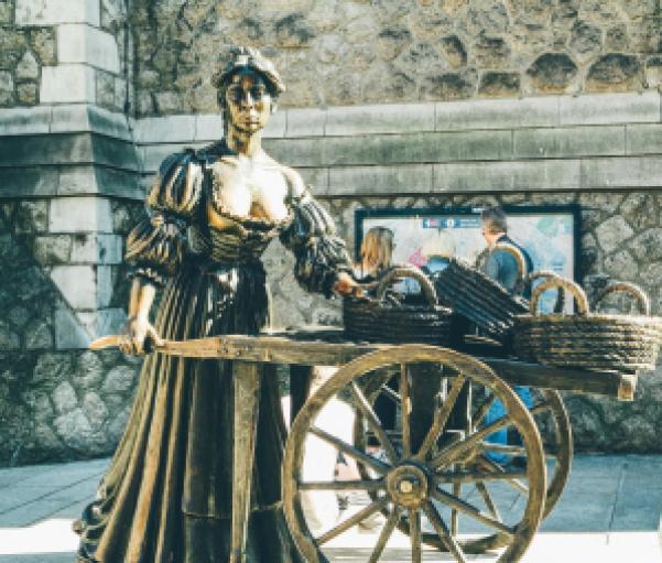 Molly Malone, Dublino